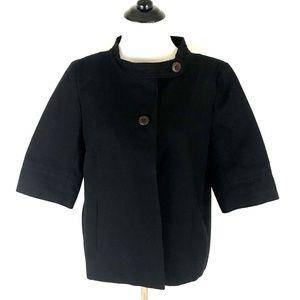 Women''s J. Crew Cropped Linen Blazer Size M